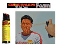 Crime Halter 15% Foam Pepper Spray - 4 oz.