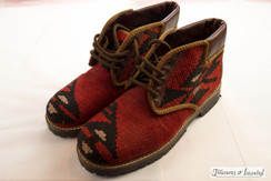Kilim Wool Shoes - Style 007