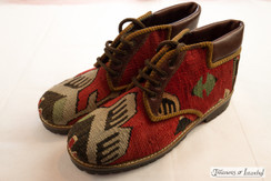 Kilim Wool Shoes - Style 008