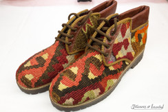 Kilim Wool Shoes - Style 011