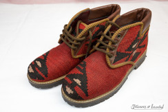 Kilim Wool Shoes - Style 012