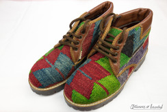 Kilim Wool Shoes - Style 014
