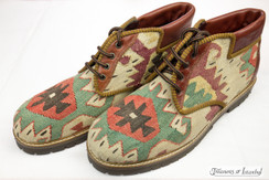 Kilim Wool Shoes - Style 016
