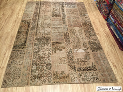 New stock - overdyed rug - 200x300cm - 001