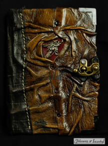 Leather-bound notebook - 003