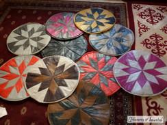 Various ottomans