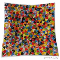 Glass plate - Mosaic - 30x30cm