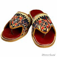 Kilim Wool Shoes 003