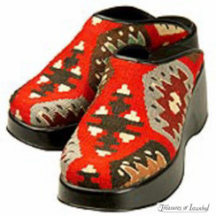 Kilim Wool Shoes 004