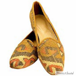 Kilim Wool Shoes 005