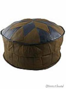 Leather Ottoman 001