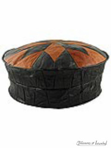 Leather Ottoman 002