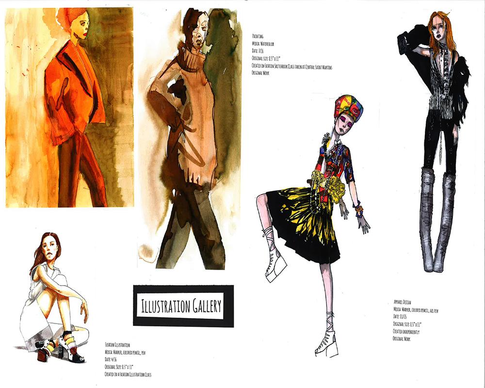 Fashion Model Live Drawing