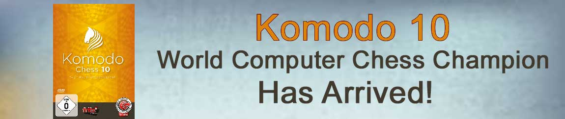Komodo 10 Chess Playing Software - World Computer Champion