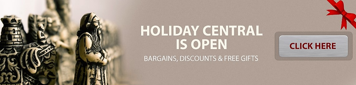 ChessCentral has Holiday Bargains, Discounts and Gifts