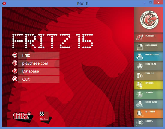 Fritz 15 Best Chess Playing Software by ChessBase