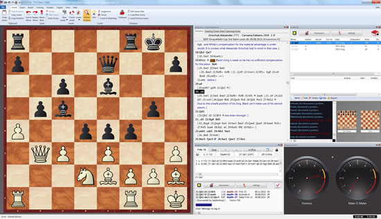 Fritz 15 Best Chess Playing Software by ChessBase - Friend Mode