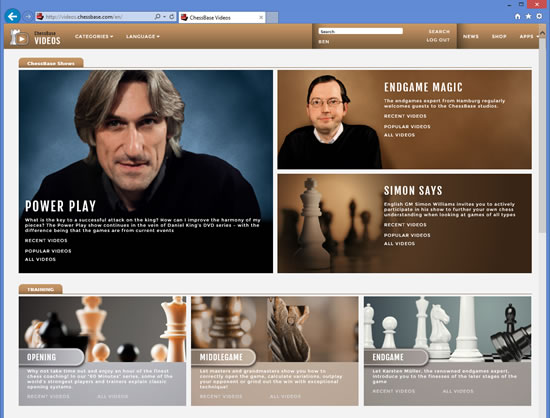 ChessBase web Tools