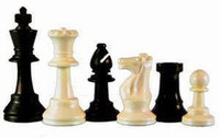 Plastic Chess Pieces for School and Club
