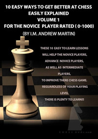 10 Easy Ways to Get Better at Chess, Novice DVD