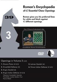 Roman's Encyclopedia of Openings -  3 DVD