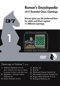 Roman's Encyclopedia of Openings -  1 DVD