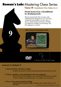 Roman's Chess Labs: Vol 9, Comprehensive Chess Endings Part 2 DVD