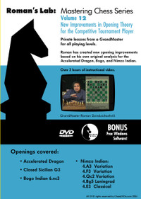 Roman's Chess Labs: Vol 12, Improvements in Opening Theory for the Competitive Player