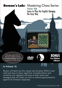 Roman's Labs: Vol. 16, Learn to Play the English Opening the Easy Way Download