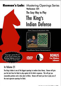 Roman's Labs: Vol. 21, The Easy Way to Play the King's Indian Defense Download