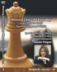 Susan Polgar, 4: Learn How to Avoid Opening Traps and Pitfalls Chess Download