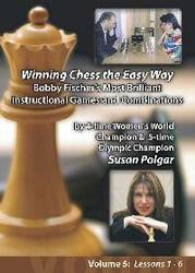 Susan Polgar, 5 Bobby Fischer's Most Brilliant Instructional Games Chess DVD