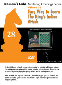 Roman's Labs: Vol. 28, Easy Way to Learn the King's Indian Attack Download
