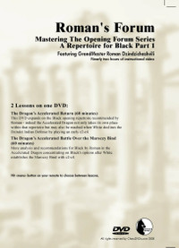 Roman's Forum:  31, Mastering the Opening Forum Series A Repertoire for Black Part 1 DVD