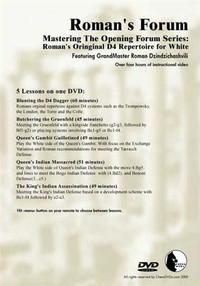 Roman's Forum: Vol. 35, Mastering the Opening Forum Series - Roman's original 1.d4 Repertoire for White Download