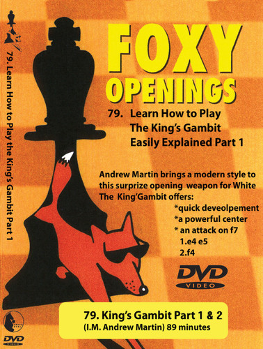 Foxy Chess Openings: King's Gambit DVD