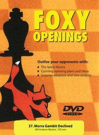 Foxy Chess Openings: Morra Gambit Declined DVD