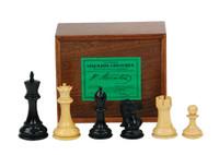 Jaques of London - Fischer -  Spassky Ebonized Chess Set