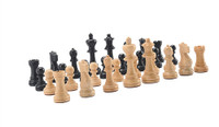 "Jaques of London Chess Pieces - 3"" Weighted Staunton"