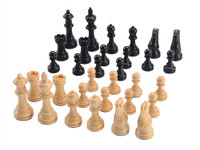 "Jaques of London Chess Pieces - 3.25"" Weighted Staunton"
