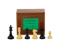 "Jaques of London - Original Staunton Design Chess Set with 3.5"" King"