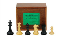 "Jaques of London - Chess Pieces - 3 3/4"" Original Staunton Design"