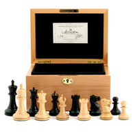 "Jaques of London - 1855 Edition 3.5"" Chess Set in Beech Box"