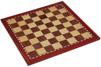 "Jaques of London - 16"" Inlaid Chess Board"
