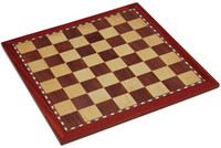 "Jaques of London - 18"" Inlaid Chess Board"