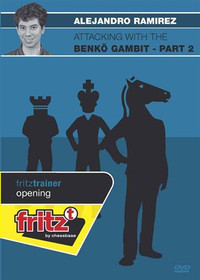 Attacking with the Benk̦ Gambit, Part 2 - Chess Opening Software DVD