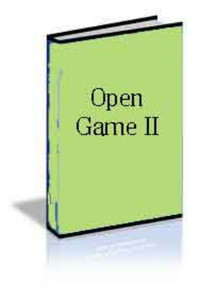 Open Game II: E-book for Download for Chess Openings Wizard