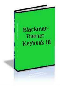 Blackmar-Diemer Keybook III: E-book for Download for Chess Openings Wizard