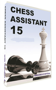 Chess Assistant 15, Professional Package with Houdini 4 Pro Chess Software Download