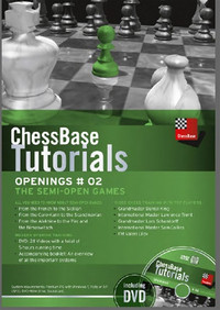 ChessBase Chess Tutorials, Openings #02: The Semi-Open Games DVD